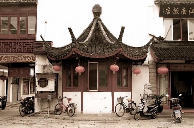 Zhujiajiao Structure