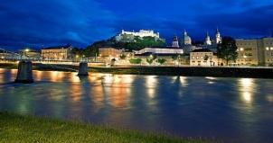 Hohensalzburg Castle at Night