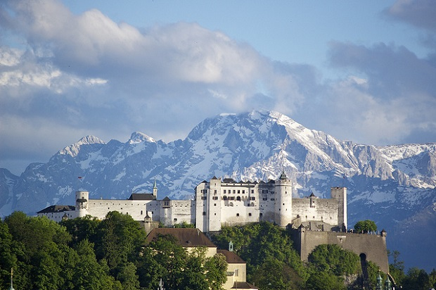 Hohensalzburg Castle of Austria