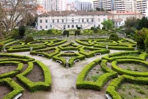 Lisbon Zoo Garden Panorama
