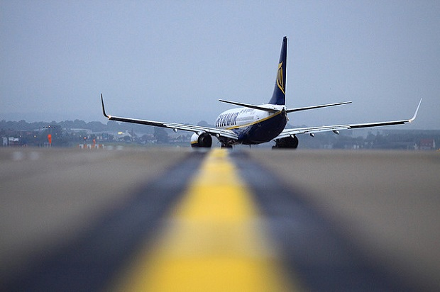 Ryanair Takeoff