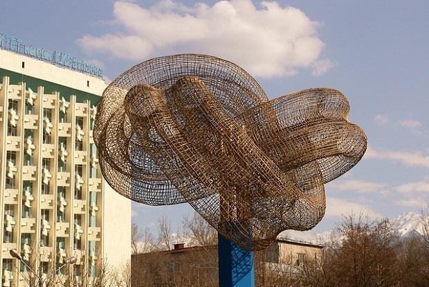 Almaty Knot Statue