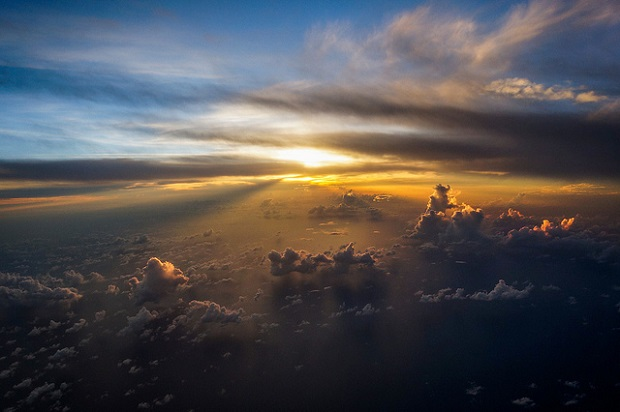 Caribbean Curacao sunset