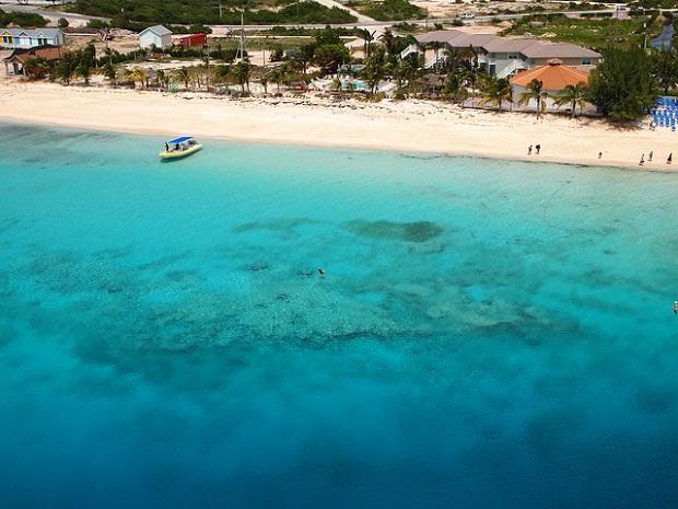 Grand Turk Island shore