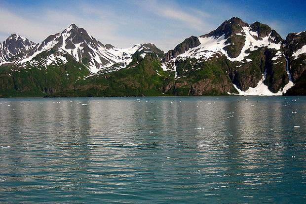 Kenai Fjords Mountain Range