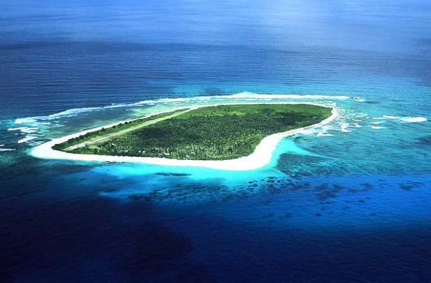 Seychelles Aerial View