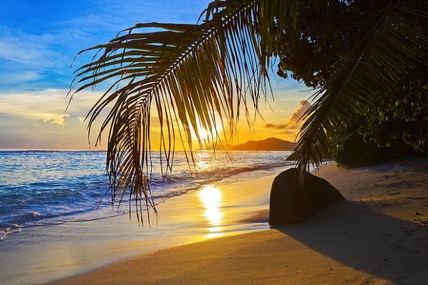 Seychelles sunset
