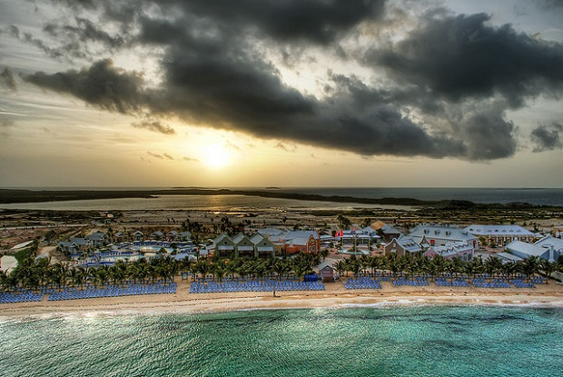 Sunrise over Grand Turk