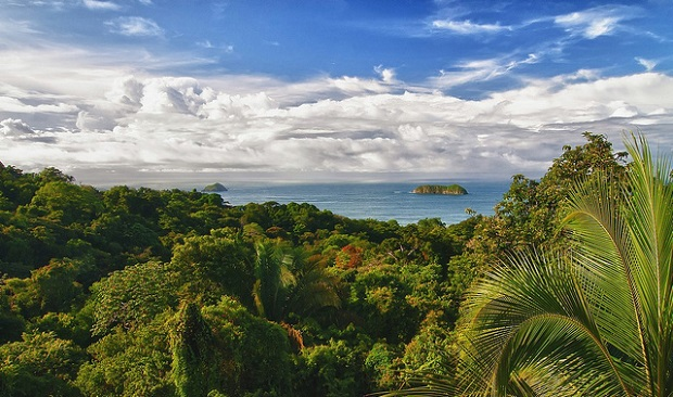 Costa Rica Beautiful Lush Scenery