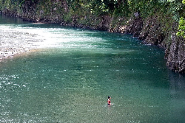 Costa Rica River swim