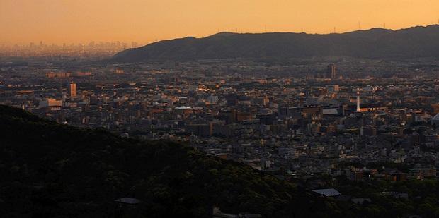 Osaka and Kyoto