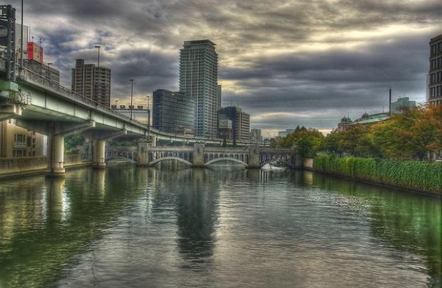 Osaka Canal Arch Bridge