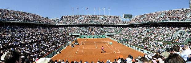 Roland Garros Full Stadium