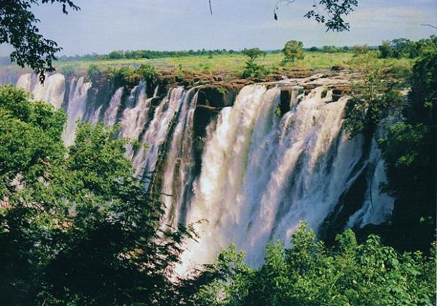 Victoria Falls Landscape