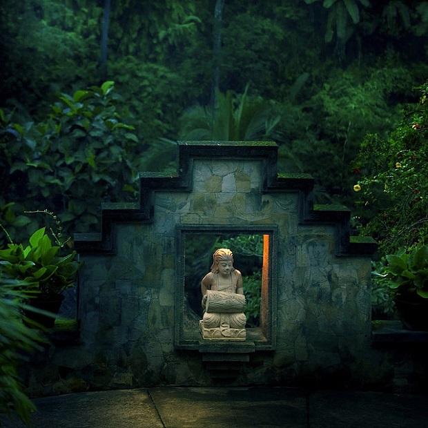 Bali Rainforest Statue