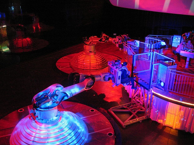 Dance with Robots Futuroscope