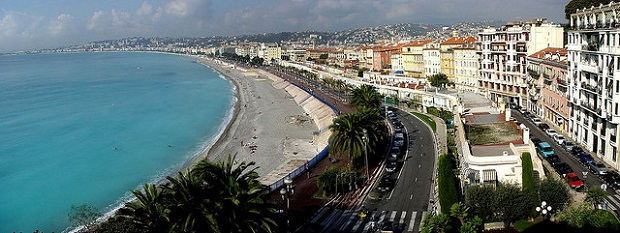 French Nice Beach