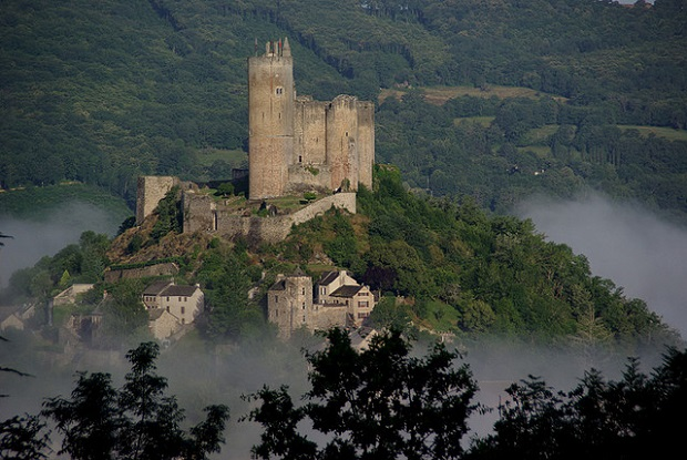 Misty Najac Castle