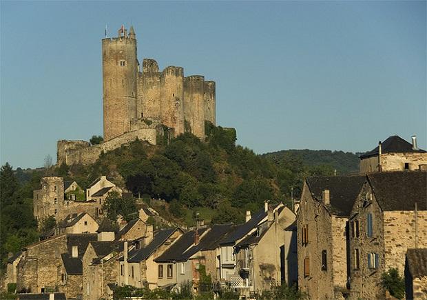 Najac Castle Aveyron