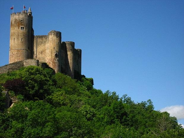 Najac Castle side