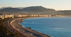 Nice coast