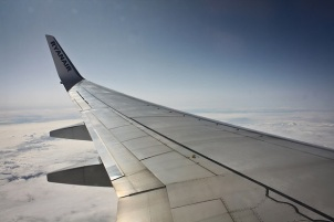 Ryanair Flight wing