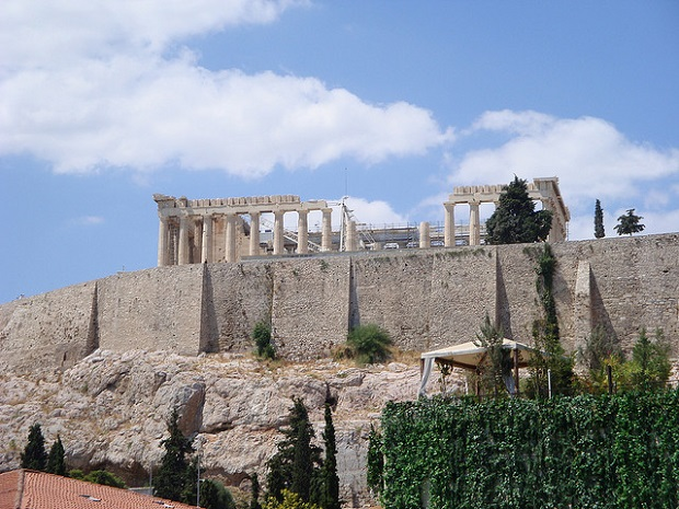 Sunbathed Acropolis