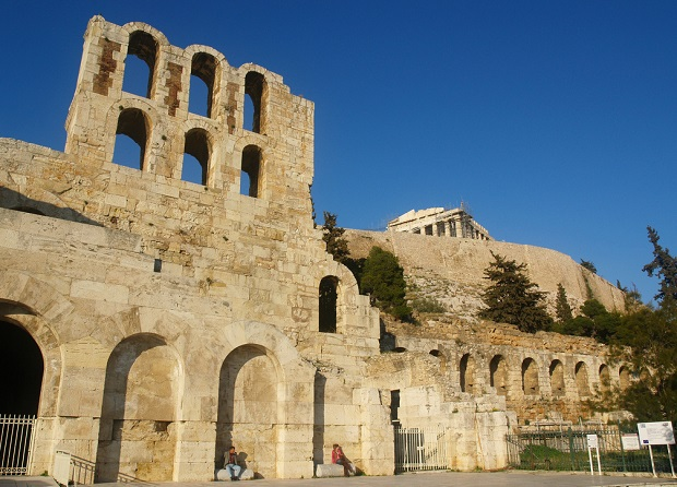 Walk towards Acropolis