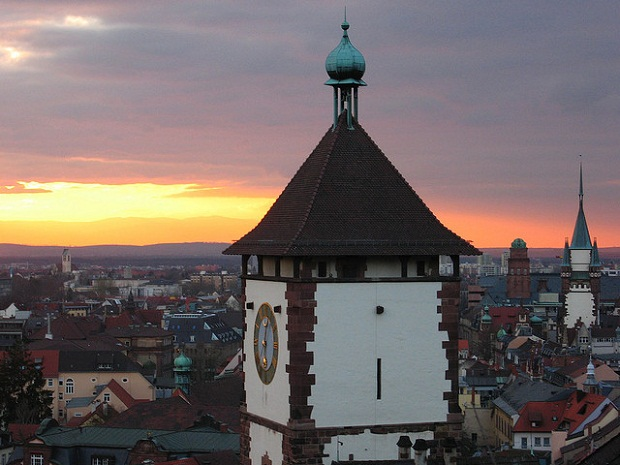 Freiburg sunset