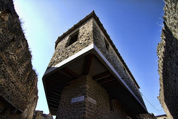 Lupanar Pompeii brothel