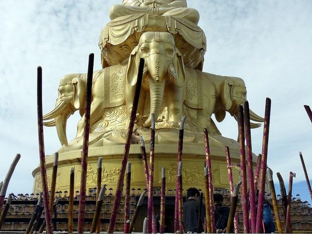 Mount Emei Buddha Puxian