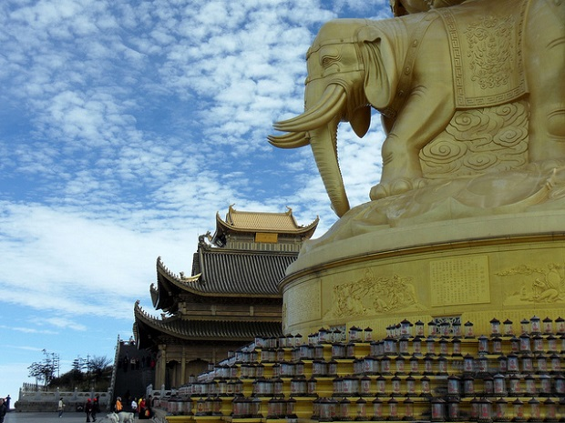 Mount Emei Golden Temple