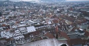 Snowy Freiburg