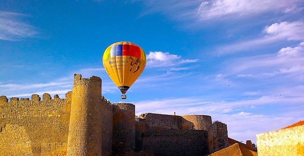 Air Baloon tours of Madrid