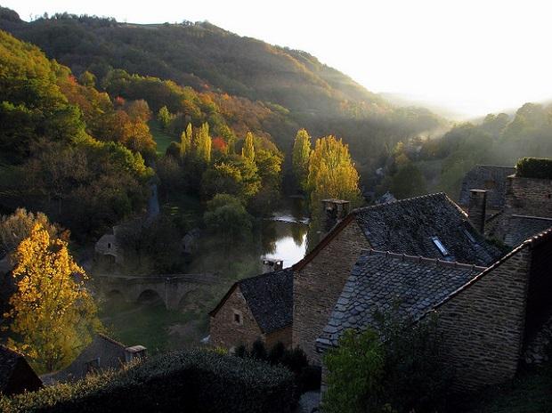 Beautiful Belcastel Village