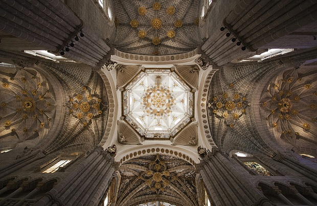 Catedral de Tarazona ceiling