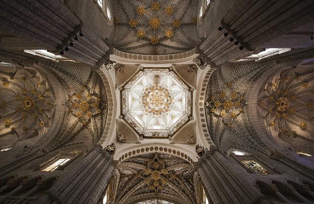 Catedral de Tarazona ceiling