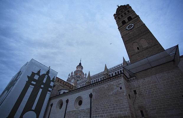 Catedral de Tarazona gloomy