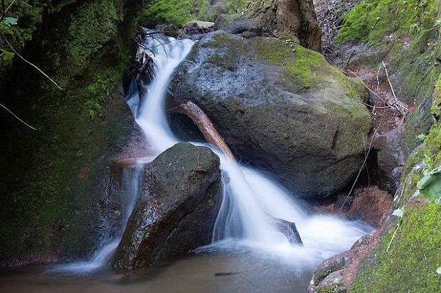 Cuenca small waterfalls