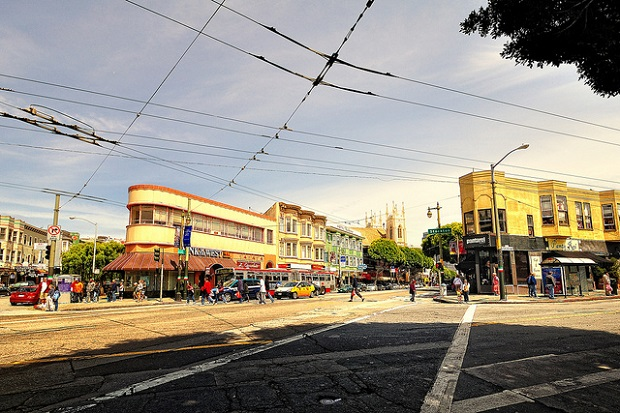 Little Italy in North Beach
