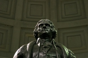 Thomas Jefferson Memorial Statue