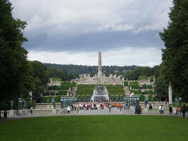 Vigeland Park Pillar