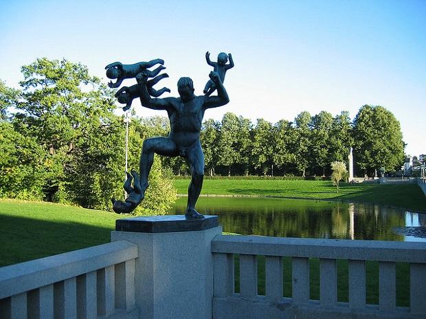 Vigeland Park Sculptures