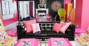 The Barbie suite, The Palms