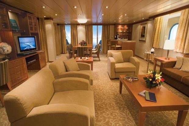 Master Suite, Seven Seas Voyager