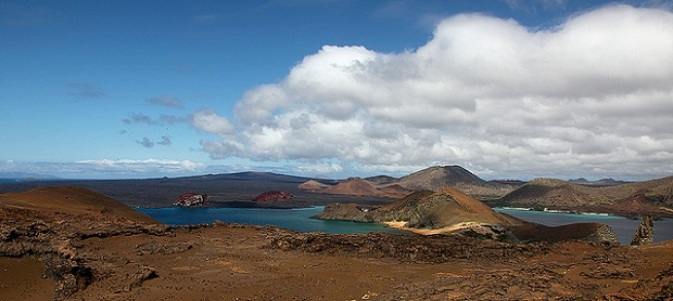Galapagos Islands scenery