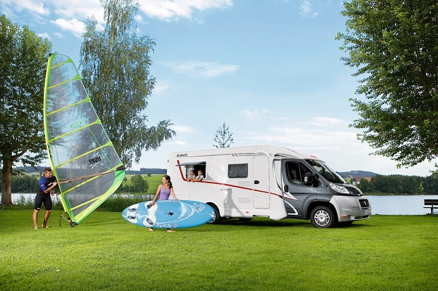Campervan fun time